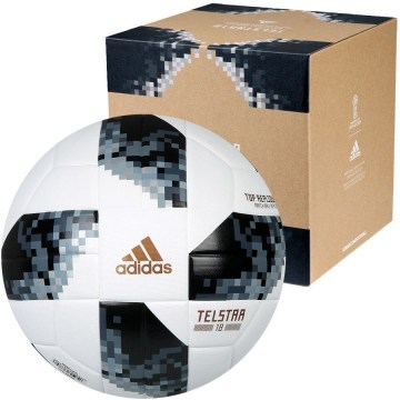 Футбольный мяч Adidas Telstar World Cup 18 Top Training №4